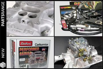 Weber/Edelbrock 500 Carburettor kit with Offenhauser manifold